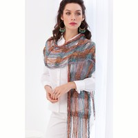 Lido Drop Stitch Scarf/Shawl PDF