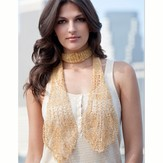 Stacy Charles Fine Yarns Elsa Lace Scarf Free