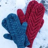Tin Can Knits Antler Mittens PDF
