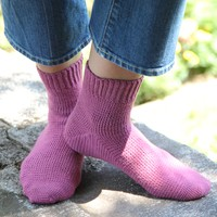 Crochet Toe-Up Socks
