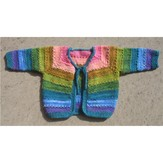 Dream in Color 604 Tulip Baby Cardigan Kit