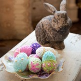 Universal Yarn Cotton Supreme Easter Eggs (Free)