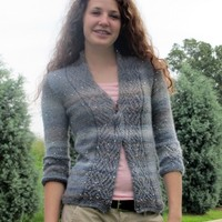 Sparkle in the Storm Cardigan (Free)