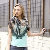 Universal Yarn Bisected Shawl PDF