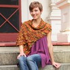 Valley Yarns 120 Falling Leaves Shawl - 120p