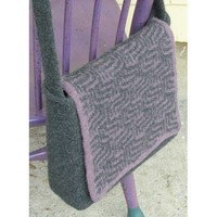 141 Purple Maze Messenger Bag (Free)