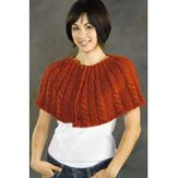 Valley Yarns 193 Rte. 5 Cabled Capelet - Download