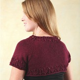 Valley Yarns 245 One Skein Shrug (Free)