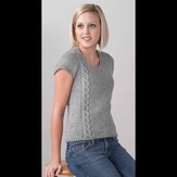 Valley Yarns 256 Shay Cap Sleeve Pullover