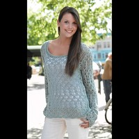 272 Highland Lake Lace Pullover