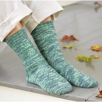 284 Waterlily Socks