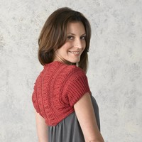 291 Shirred Shrug