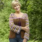 Valley Yarns 479 Nakota Cardigan
