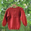Valley Yarns 482 Copper Penny Child's Pullover - 482p