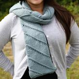 Valley Yarns 552 Twist Scarf