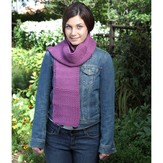 Valley Yarns B14 Basic Scarf From Measurements