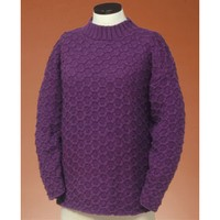 131 Honeycomb Cable Pullover