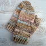 Crochet Mittens From Measurements